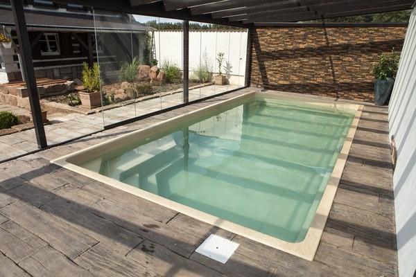 Monaco 720 x 342 x 140cm Ceramic Pool Ceramisith