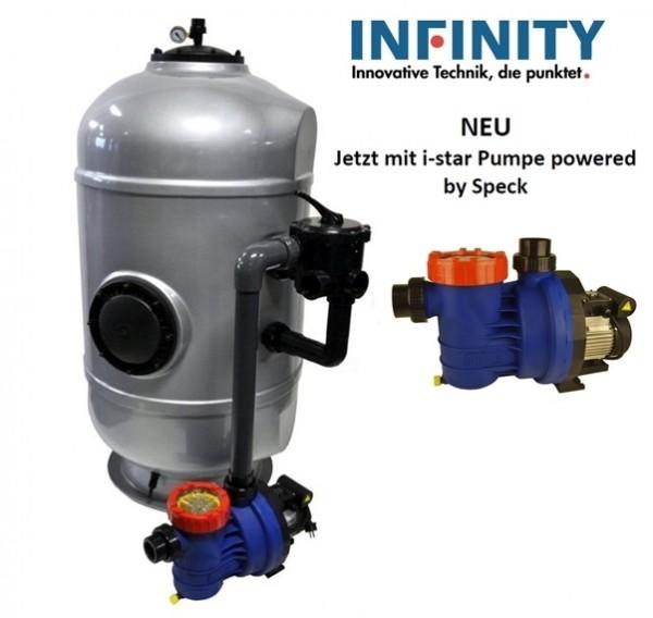 Filteranlage MS Exclusiv mit i-Star Pumpe