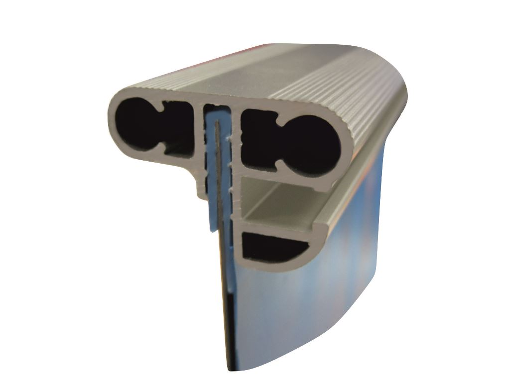 Rundpool tiefe 150cm folie 0 80mm blau alu kombihandlauf for Rundpool folie