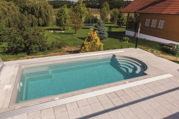 St. Tropez 750 x 352 x 140cm Ceramic Pool Ceramisith