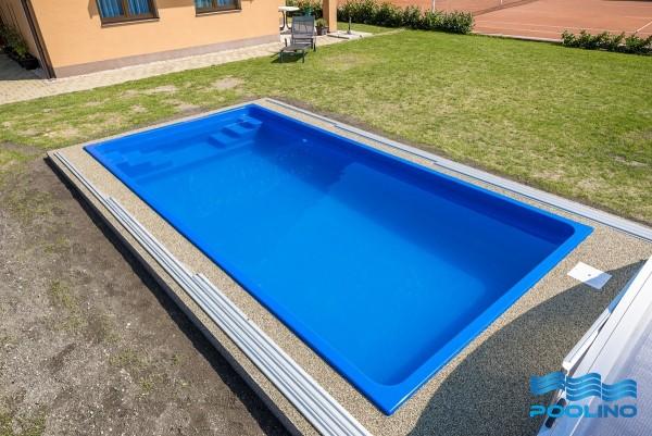 Florida 600 x 300 x 120cm Fiberglaspool GFK Vinylester Pool